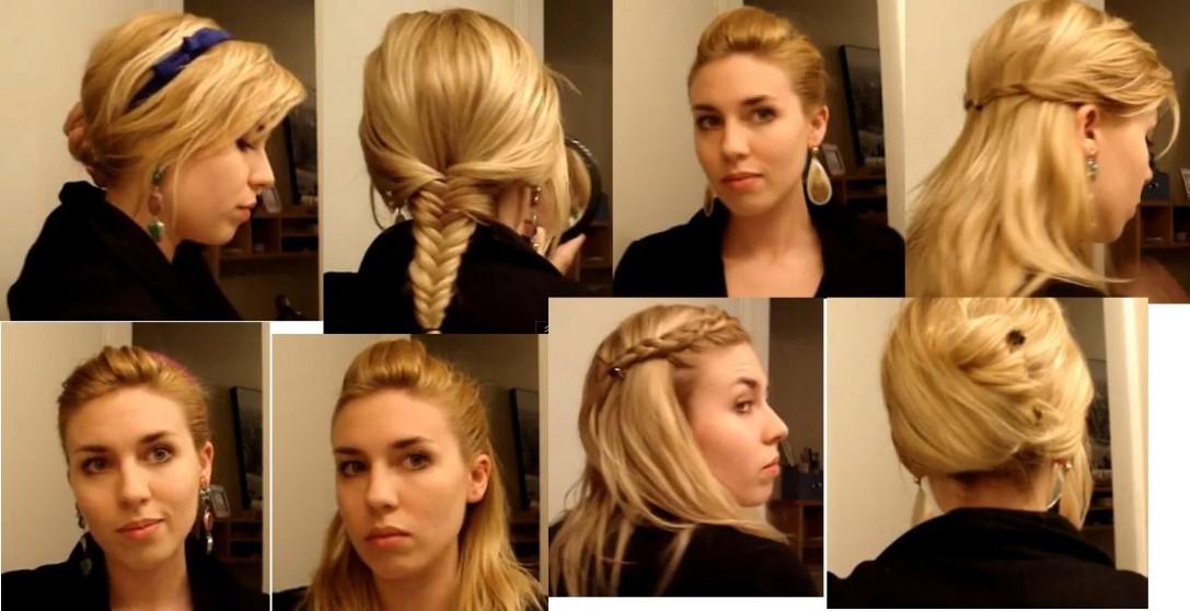 10 Peinados faciles para estar a la moda
